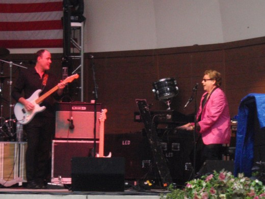 Jay Swanson and Jerry Lee Lewis (Tim Mahoney)