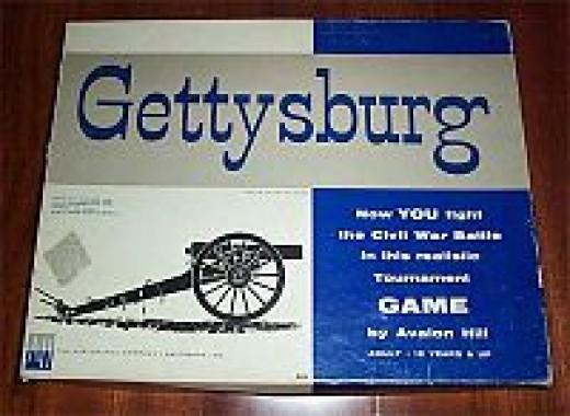Gettysburg (1964) by Avalon Hill