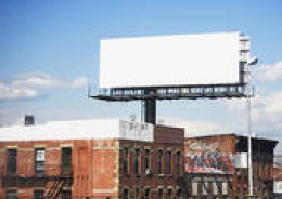 Billboards work for advertisers. And so will the baldness on my head work for any advertiser who will pay me to tattoo their logo on my head.