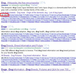 How to view the PageRank in Google SERPs