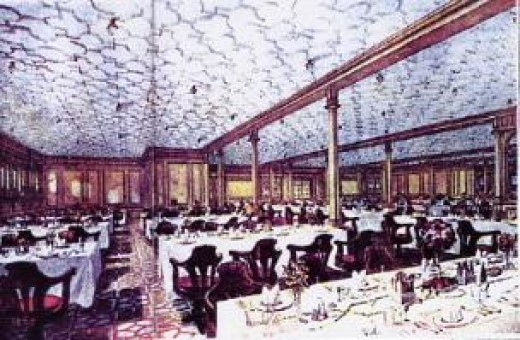 2nd class Dining Saloon