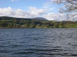 lake windermere in the lake district.