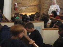 Serving God at my church