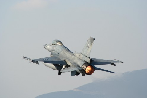 Take off from Air Base