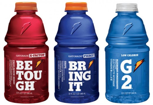 "Gatorade uses the ""Memphis"" slab-serif font."