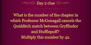 Pottermore Clue Day 2