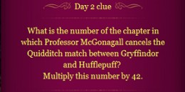 Pottermore Clue Day 2
