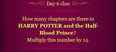 Pottermore Clue Day 6