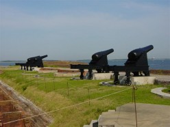 Cannons at Fort Clinch
