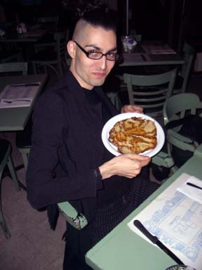East L.A. Goth with pancake