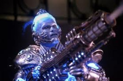"Mr. Freeze (Arnold Schwarznegger) was a part of the Batman Movie Series...and did a lot of damage making things ""freeze""."