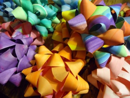 easy handmade gift bows