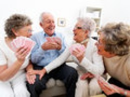 Even senior citizens can be always-happy people for they have made a lifetime practice of doing unusually-kind deeds for friends and strangers which might explain their longevity.