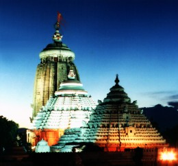 Shri.JAGANATH TEMPLE - PURI - ORISSA. INDIA'S MOST ANCIENT FAMOUS TEMPLE