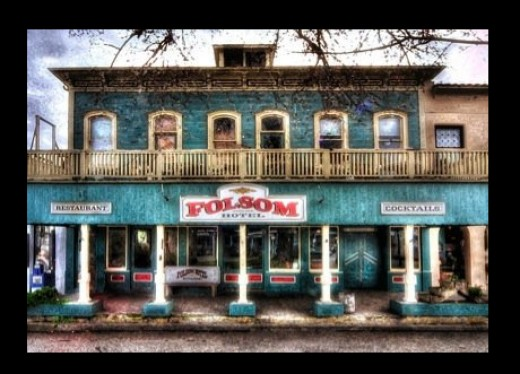 Folsom Hotel Saloon - Folsom California