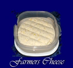 Homemade Farmers Cheese