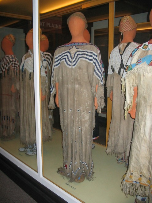 Northern Paiute costumes at the Field Museum, Chicago