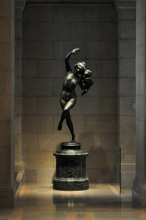 Dancing Statue at the Boston Museum of Art