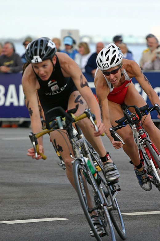 Commonwealth Games Traithlon 2006. These athletes will have followed the 10 commandments of endurance training.