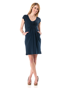 Short Sleeve Maternity Dress $29.98