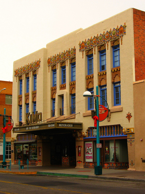 The Pueblo Deco influence of the SouthWest, KiMo Theatre - Alburquerque, NM