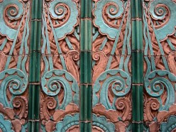 Tropical Art Deco Motif nr St Ignatius Church, Chicago