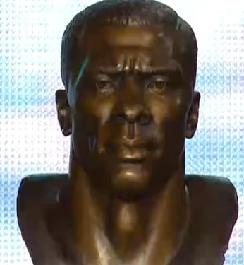 Shannon Sharpe Class of 2011 Pro Football Hall of Fame