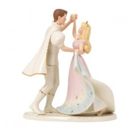 cake toppers for a princess or fairytale wedding.