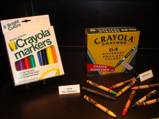 Remember when there were only eight colors of markers?
