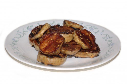 BBQ Grilled Eggplant