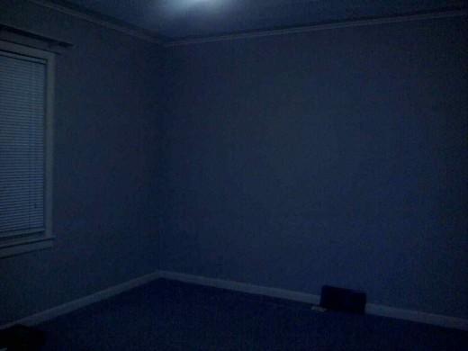 His room is empty... the empty nest begins.