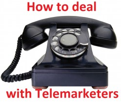 How to Handle Telemarketers