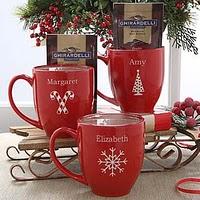 Personalized Christmas Coffee Mugs