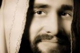 """I believe that Jesus did smile while on earth. When the little children ran to him and he picked them up and blessed them, He said, """"suffer these little children to come unto me, for such is the Kingdom of Heaven."""""""