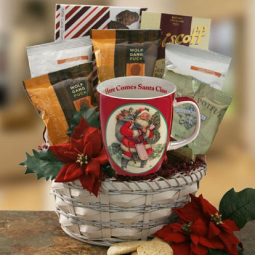 Create Your Own Personalized Christmas Coffee Mugs Gift Basket