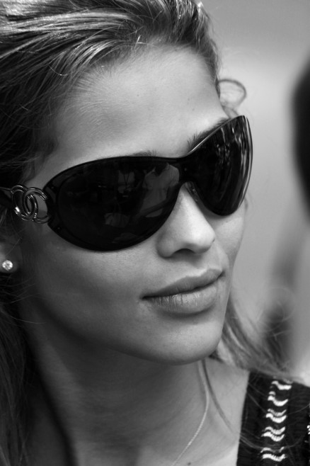 In the movie version Alexandra would be played (well of course there'll be a movie version) by  Ana Beatriz Barros