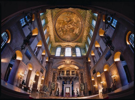 The Great Hall at Blenheim Palace