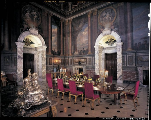 The Salon at Blenheim Palace
