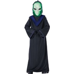 Kids glow in the dark alien costume