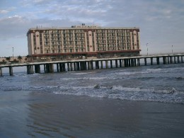 The old Flagship Hotel, Galveston, Texas