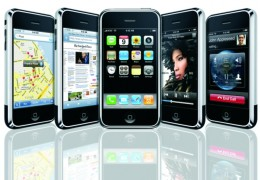 iPhone 3G S, the older version.