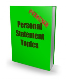 Overused Personal Statement Topics