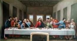 Last Supper -  Leonardo Da Vinci