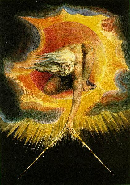William Blake's art work was as varied as his written work.