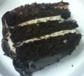 Recipe: Chocolate Fudge Cake with Kahlua Buttercream and Chocolate Ganache