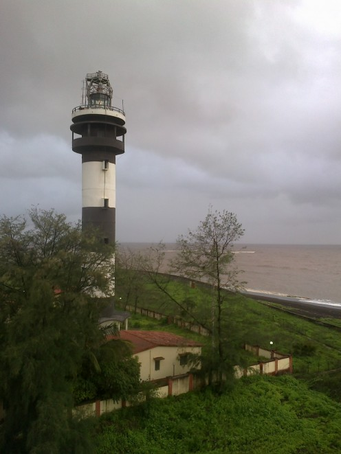 The new lighthouse,  a closer look
