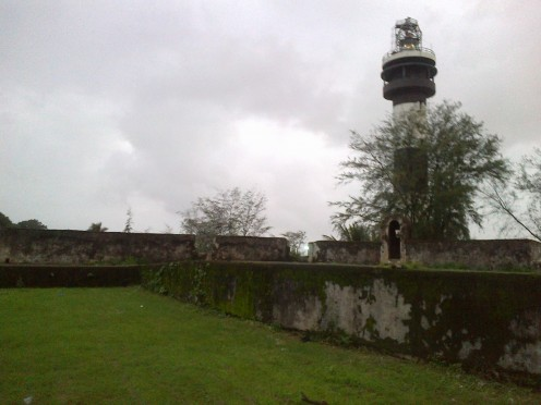 the light house - a distant view