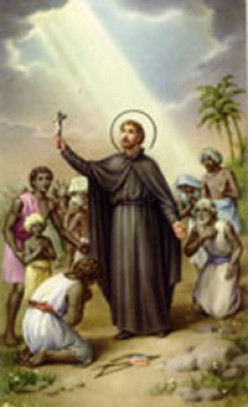 St.Francis Xavier having studied philosophy for two years he became master of arts, then taught philosophy at Beauvais college,  though he lived in that of St. Barbara. If St Farncis Xavior was born in 1506,It is Jesus who was born as St.Francis.