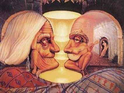 Look more closely, what do you see?