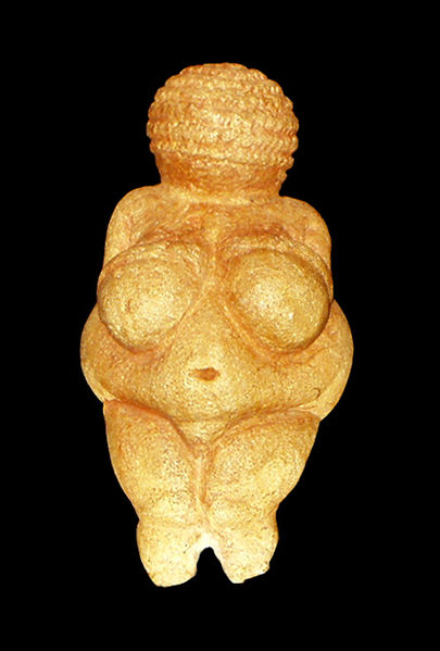 Venus von Willendorf - Oke -  Permission is granted to copy, distribute and/or modify this document under the terms of the GNU Free Documentation License http://en.wikipedia.org/wiki/File:Wien_NHM_Venus_von_Willendorf.jpg